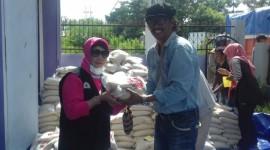 KKSS Sediakan 3.000 Porsi Makanan Per Hari di Palu