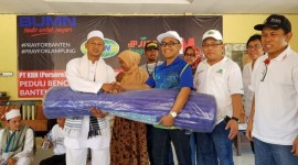 Sinergi BUMN Bantu Korban Tsunami Tanjung Lesung